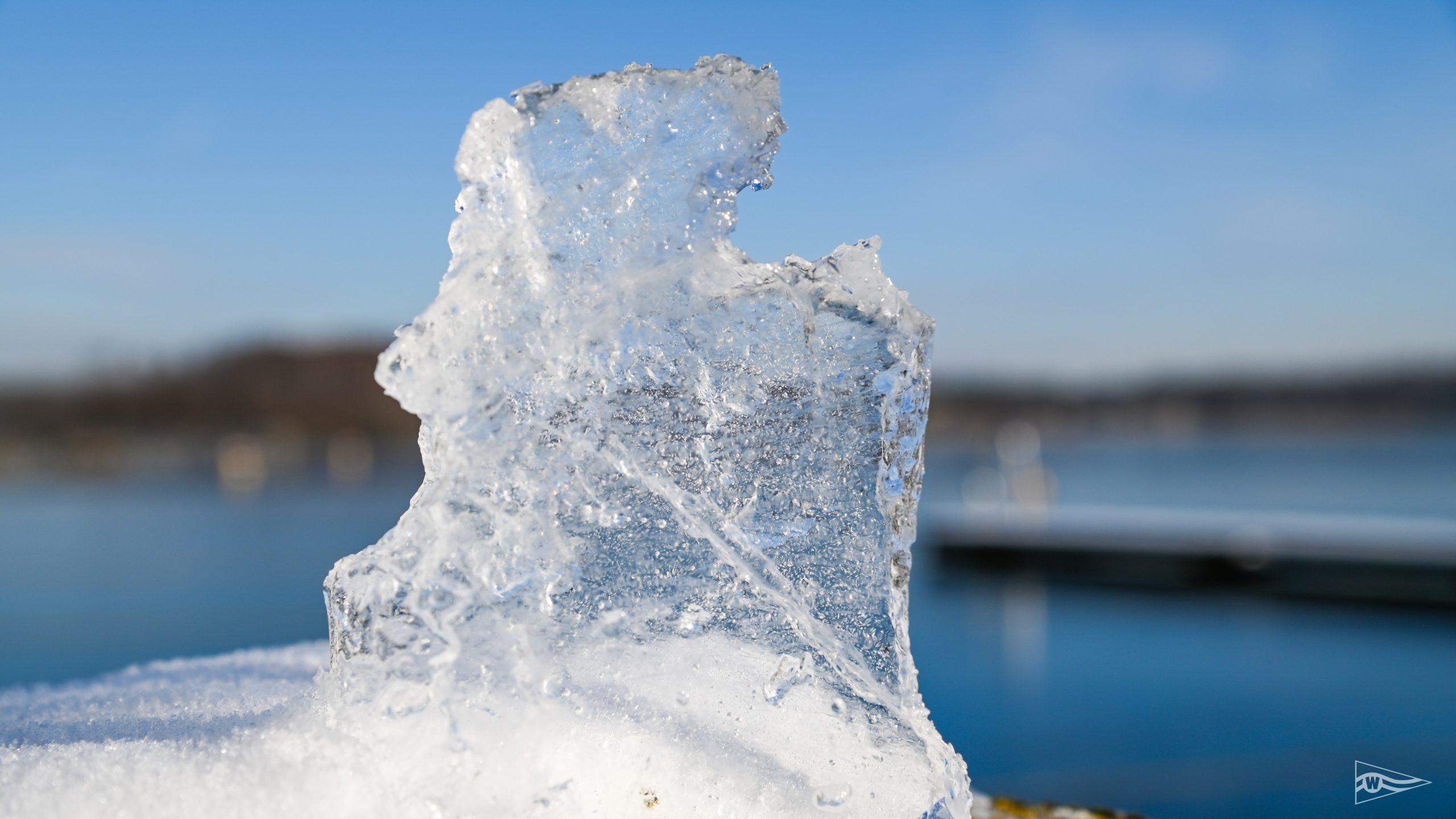 Eis auf Dalben